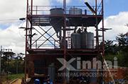 Место работы оборудования для десорбции и электролиза в Зимбабве