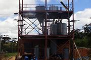Обогатительная фабрика проекта электролиза и десорбции в Зимбабве
