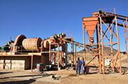 Обогатительная фабрика проекта гравитации золота в Судане