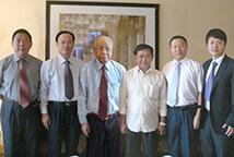 Великий князь Кампучии ведёт переговоры в Синьхае