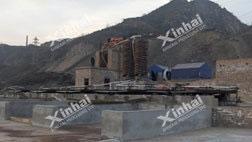 Китай 100t/d Проект гравитационного обогащения золота
