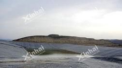 Myanmar 200t/d heap leaching of gold project