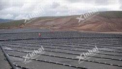 Tajikistan 100t/d heap leaching of gold project