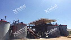 Zimbabwe 200t/d CIL gold CIP project