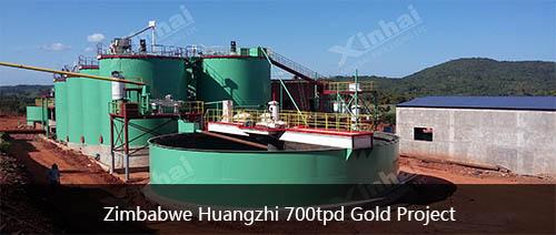 Zimbabwe Huangzhi 700tpd Gold Project