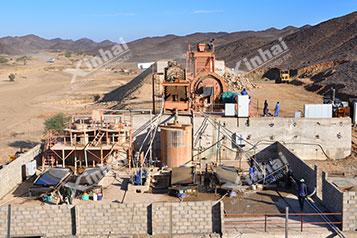 Судан 500t/d проект по обогащению золота