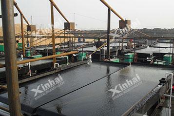 Fujian 2000 t/d проект по обогащению вольфрамита