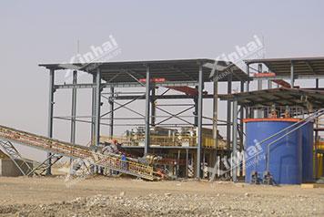 Guangxi 1000t/d Проект по обогащению оловянных руд