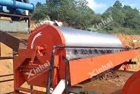 Проект магнитной обогащения железных руд 1300t / d в Китае11