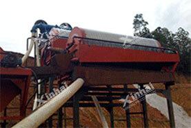 Проект магнитной обогащения марганцевых руд 1000т/д  в провинции Фуцзянь34