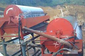 Проект магнитной обогащения железных руд 1300t / d в Китае12