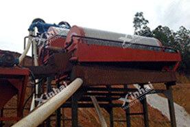 Проект магнитной обогащения железных руд 1300t / d в Китае14