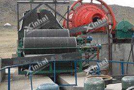Проект магнитной обогащения железных руд 900t/d в провинции Ляонин23
