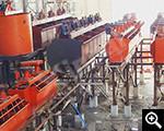 Монтаж флотационной фабрики