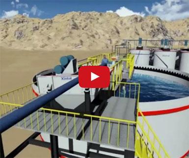 проект золотообогатительной фабрики с производительностью 1200 тонн в сутки в Танзании