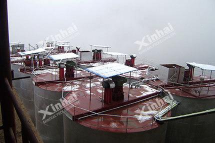 Обогащение серебряной руды флотацией