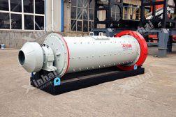 Энергосберегающая шаровая мельница мокрого помола с разгрузкой через решётку