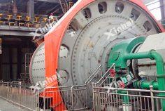 Энергосберегающая шаровая мельница