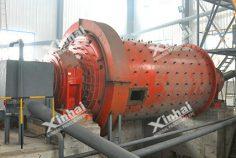 Решетчатая шаровая мельница мокрого помола
