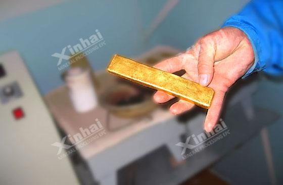 слитоку золота