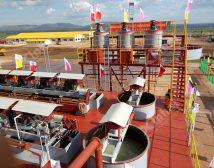 Проект строительства фосфорной обогатительной фабрики 720t/d в Уганде