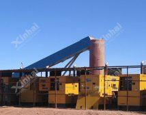 Проект строительства золотой обогатительной фабрики 1000t/d в Монголии