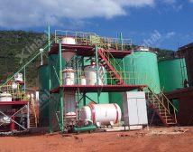 Проект строительства золотой обогатительной фабрики 700t/d в Зимбабви