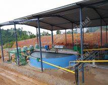 Проект строительства золотой обогатительной фабрики 700t/d в Малайзии