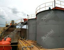 Проект строительства золотой обогатительной фабрики 600t/d в Танзании